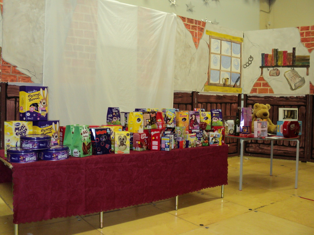 Easter Bingo Success