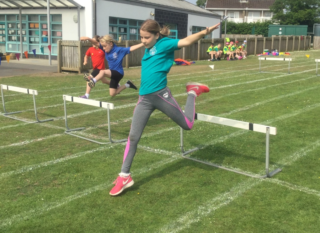 Photography Club take action shots on Sports Day!