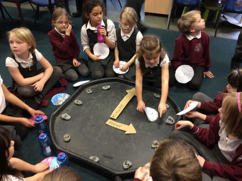 'Tick Tock'  look at our clock!