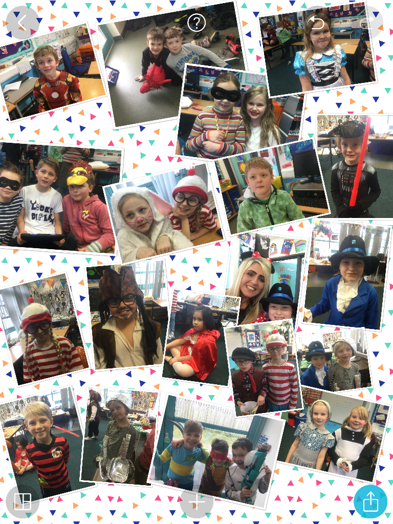 Year 3R enjoying World Book Day