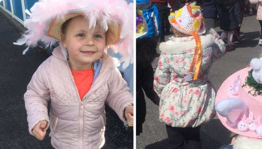 Early Years celebrated Easter with an Easter Hat Parade.