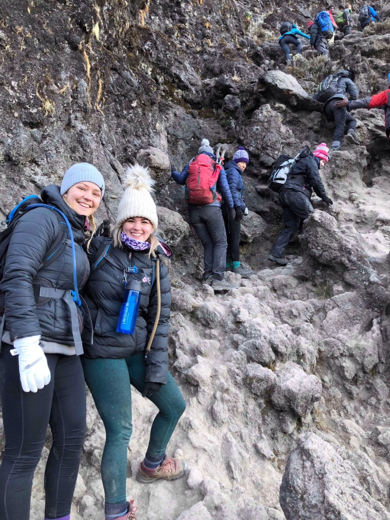 Past pupil climbed Mount Kilimanjaro with the support of our school